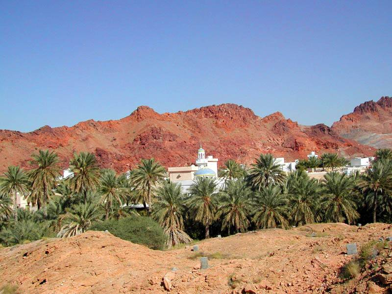 Typical Omani village
